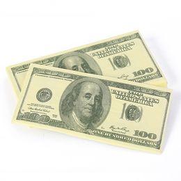 Wholesale Dollar Tissue Paper - Wholesale- 10 PCS Lot Funny Dollar Napkin Money Bill Napkins100 Dollar Toilet Tissue Paper Party Event Decor Supplies