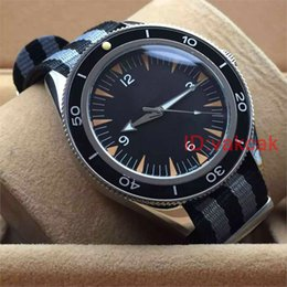 Wholesale Gents Wristwatches - New Top Luxury mechanical men 300 Master Co-Axial Automatic Movement Gents Watches James Bond 007 Spectre Mens Sports Watch Wristwatch