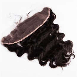 Wholesale Natural Kinky Curly Malaysia - weaves closure Straight Body wave Loose Deep Kinky Curly Kinky Straight 13x4 Malaysia Hair Lace Frontal and Closure Ear to Ear Lace Frontals
