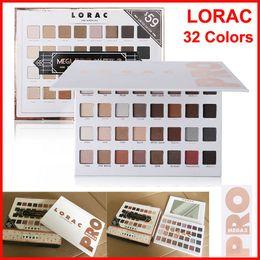 Wholesale Mega Size - New LORAC PRO Limited Edition Eye Shadow Lorac Mega Pro 3 Palette Eyeshadow 32 Colors Palette Shimmer Matte Brands Eyeshadow Palette Makeup