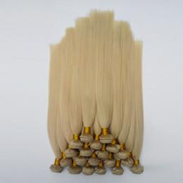 Extensiones de cabello europeo de alta calidad online-Brasileño Malasio Cabello Humano Recto 8-30 pulgadas 613 # Luz blanca de alta calidad extensiones de cabello Americano Belleza Rubio Europeo pelo indio indio