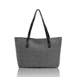 Wholesale Modern Cell - Wholesale- Modern Women Fashion Canvas Handbag Shoulder Bags Shopping Linen Casual Totes Jn7