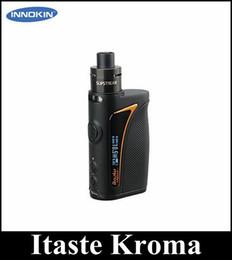 Wholesale Box Cig - Original Innokin Itaste Kroma with 2ml eliquid capacity 75W Starter Kit 2000mah E cig Box Mods
