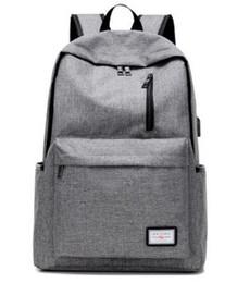 2019 mochilas de niños pequeños Men 's Everyday 2017 Mochila Nylon Teenager School Bag Tech Mochila Mujeres Mochila Mochila Portátil con puerto de carga USB B093