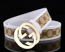 Wholesale 36 27 Shipping - Wholesale GUCCX Brand Belts For Men Fashion Designer Belt Luxury Genuine Leather Belt Gold Silver Black Buckle Waistband Free Shipping