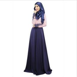 Canada Femmes turques Nouvelle Arrivée Musulman Vêtements Dentelle À Manches Longues Mode Femmes Robes Islamique Abaya Vêtements Ethniques cheap islamic abaya new fashion Offre