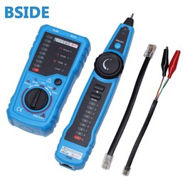 Wholesale Wire Tracker Cable - BSIDE Multifunctional Network Tool Test Handheld RJ45 RJ11 Wire line Tracker Multifunctional Cable Test Tool Line Finder +B