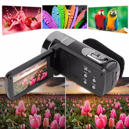 Wholesale Camera Zoom Control - Wholesale-In Stock! 3.0 inch FHD 1080P 16X Optical Zoom 24MP Digital Video Camera Camcorder DV NEW