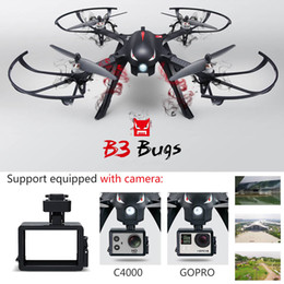 Wholesale Gyro Gopro - MJX Bugs 3 B3 With MT1806 1800KV Brushless Motor Profissional Drone 2.4G 3D Roll Quadcopter 6 Axis Gyro
