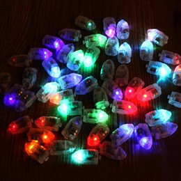 Wholesale Mini Latex Balloons - Mini Small LED Lamps Flash Balloon Light No Lines Luminous Lantern for Latex Balloons Paper Lanterns Christmas Wedding Bir