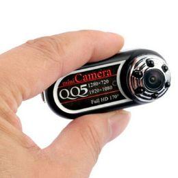 Wholesale Infrared Camera Webcam - Wholesale-Mini Portable QQ5 Full HD 12MP 170' Ultra-Wide Angle Motion Detector Infrared Night Vision Mini DV Camera Camcorder Webcam