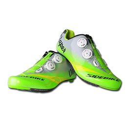 Wholesale Cotton Road Shoes - Free Shipping SIDEBIK Men Breathable Athletic Cycling Shoes Road Bike Shoes Bicycle Shoes Road Racing MTB EU40-45 US7.5-12