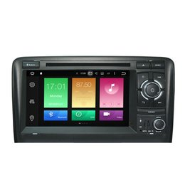 """Wholesale Dvd Screen Audi - 7"""" Android 6.0.1 System Car DVD GPS Tape Recorder For Audi A3 S3 2003-2011 2G RAM Octa-Core WIFI 4G OBD DVR RDS WIFI 4G Google Mirror Screen"""