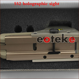 Wholesale Riflescopes Mounts - Tactical riflescopes 552 Holographic sight Red Dot Scope Reflex For Hunting for picatinny 20mm rail mount