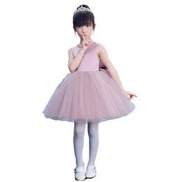 Wholesale Pictures Children Dresses - Children dress Princess skirt stage performance dresses big bow dress flower children wedding dress New Autumn
