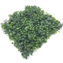 Wholesale Artificial Lawn Grass - artificial turf plastic fake grass lawn 25*25cm free shipping wa4226