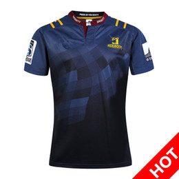 Wholesale Football Specials - 2017 New Zealand Highlanders rugby jerseys blue chiefs football shirts Chief Special Version Rugby whirt HOME BLK RWC NRL Super Crusader 3XL