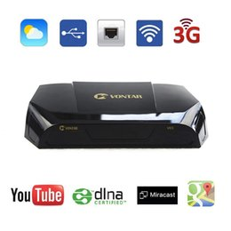 Wholesale Satellite Receiver Boxes - Cheap Genuine VONTAR V9S OpenBox DVB-S2 HD Satellite Receiver Wifi Build in CCCAMD NEWCAMD Weather Forecast Miracast IPTV BOX