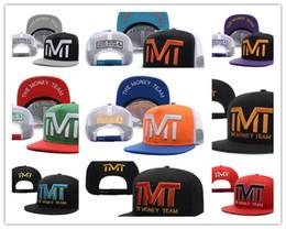 Wholesale Full Money - Free Shipping Wholesale-Full black the team money Snapback caps hiphop adjustable hat men & women classic baseball Hats Cheap