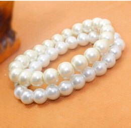 Wholesale Cheapest Silver Bracelets - Cheapest Pearls Bride Jewelry Pearl Bracelet Wedding Party Accessory Free Shipping In Stock Evening Prom Party Chain Without Clasp