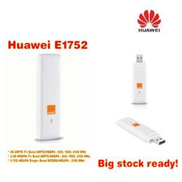 Wholesale Unlock Networks - Unlocked Huawei E1752 3g Hsdpa USB Wireless Modem Dongle 7.2mbps Network Card