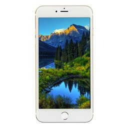 Wholesale Dual Core Ips - Touch ID Goophone i7 Plus V6 4G FDD-LTE Octa Core MTK6753T 2.2GHz 4GB 32GB Android 6.0 5.5 inch IPS 1920*1080 FHD 16.0MP Camera Smartphone