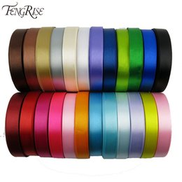 Wholesale Silk Fabric Meter - Silk Satin Ribbon 15mm 22 Meters Wedding Party Festive Event Decoration Crafts Gifts Wrapping Apparel Sewing Fabric Supplies