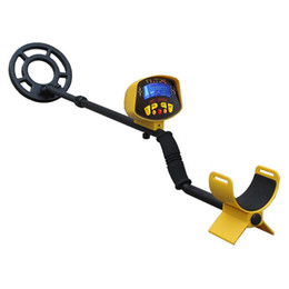Wholesale long range gold detectors - MD3010II Ground Searching Metal Detector Gold Digger Waterproof LCD Long Range Underground underground Coil stone detector MD-3010II Seach