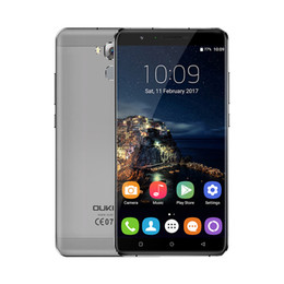 Wholesale Screen 32 - Oukitel U16 Max 6 inch 4G Lte Smartphone Android Octa Core Unlocked Mobile Phone 3GB 32 GB 13MP FHD Screen Cellphone Fingerprint 4000mAh