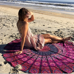 Wholesale Indian Shawls Wholesale - Pizza Beach Towel Tapestry Shawl Print Indian Pizza Bedspread Wall Hanging Bohemian Decor Cover Yoga Mat Printed Mats Summer