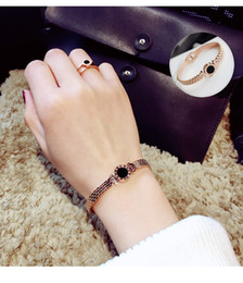 Wholesale Invisible Han - Small pure and fresh and han edition exaggerated hand catenary contracted bracelet bracelet female students personality bracelet joker