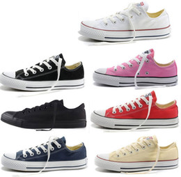 Wholesale Fall Color Classic - HOT New 13 Color All Size 35-45 Low Style sports stars chuck Classic Canvas Shoe Sneakers Men's Women's Canvas Shoes