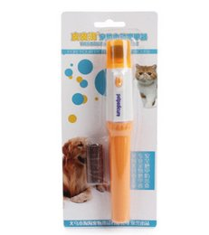 Wholesale Paw Care - Pet nail clipper Pedi Painless Pet Dogs &Cats Paw Nail Trimmer Cut Electric Pets Grinding Grooming Product