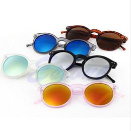 Wholesale Mercury Mix - Wholesale-Fashion multicolour 2016 mercury Mirror glasses men sunglasses women male female coating sunglass gold round