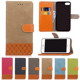 Wholesale Wallet Book Leather Case Cover - Book Flip Case For iPhone X Case PU Leather Soft Silicone Wallet Cover For iPhone 8 7 6 6S Plus 5S SE Fundas