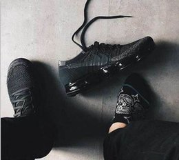 Wholesale Open Toe Lace - 2018 New Arrival Men VaporMaxes Shock Racer Running Shoes For Top quality Fashion Casual Vapor Maxes Sports Sneakers Trainers