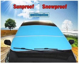 Wholesale Front Window Sunshade - Accessories Car Windshield Window Cover Snow Ice Frost Visor Shade Sunshade Sunscreen Windscreen