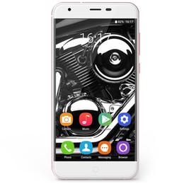 Wholesale Mini Cell Phone Cdma - Original Oukitel K7000 MTK6737 Quad Core Android 6.0 Mobile Phone 5.0 Inch Cell Phone 2G RAM 16G ROM 4G Unlock Smartphone