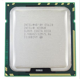 Processeur de serveur de processeur SLBV4 LGA1366 d'origine Intel Xeon E5620 Quad 2.4GHz 12MB 5.86GT / s ? partir de fabricateur