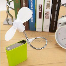 Wholesale Usb Snake - USB Mini Fan Super Mute Snake Shape Free Bending Adjustable Snake Shape Flexible fan for Laptop PC