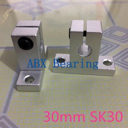 Wholesale Xyz Cnc Table - Wholesale- SK30 SH30A SH30 30mm linear bearing rail shaft support XYZ Table CNC Router
