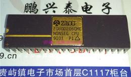 Пакет cpu онлайн-Зилог. Z0800206CME. NONSEG CPU, поверхность золота. двойной встроенный 40-контактный керамический пакет, CDIP40 Vintage 16-разрядная микропроцессорная сборка CPU