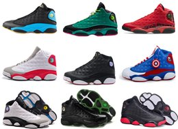 Wholesale Tba Shoes - Online Free shipping with box 2016 new arrival Original best quality Retro Men TBA 13 sports shoes cheap sale US size 8-13