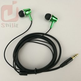 Wholesale Cheap Earphone Plugs - long fat thick cable headset loud earphone headphone earcup cheap for foreign trade Accept order Customized 3.5mm plug 1000ps lot