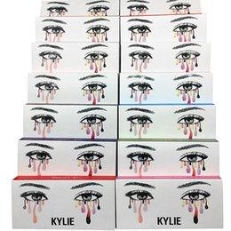 Wholesale Hair Models - NEW kylie False Eyelashes 20 model Eyelash Extensions handmade Fake Lashes Voluminous Fake Eyelashes For Eye Lashes Makeup naked tarte lorac