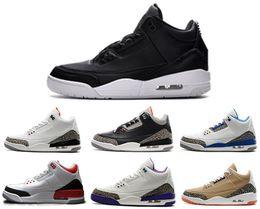 Wholesale Star Shoe Laces - 2018 shoes 3s Basketball Shoes Sports Replicas og Original Man Sneakers Fashion shoes 3s III Shoe Men Basketball Shoe