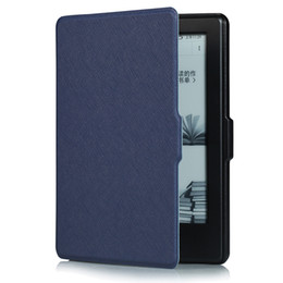 Wholesale E Readers Kindle - Wholesale-New Smart Wake PU Leather Case For 6Inch New Kindle 2016 8th Generation e-Book,Ultra Slim Cover For 2016 New Kindle 8th e-Reader