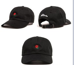 Wholesale Cheap Rose Balls - 2016 new fashion rose baseball cap snapback hats and caps for men women brand sports hip hop flat sun hat bone gorras cheap mens Casquette