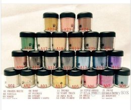 Wholesale Pigment Blue - Factory Direct Free Shipping hot New makeup 7.5g pigment eyeshadow 24 color