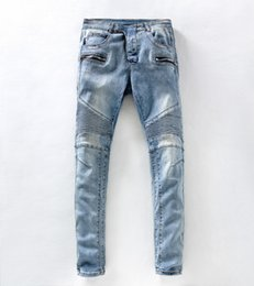 Wholesale Low Price Blue Jeans - Wholesale-Free Shipping new 2017 designer jeans men jeans famous brand skinny jeans men low Factory price pants trousers
